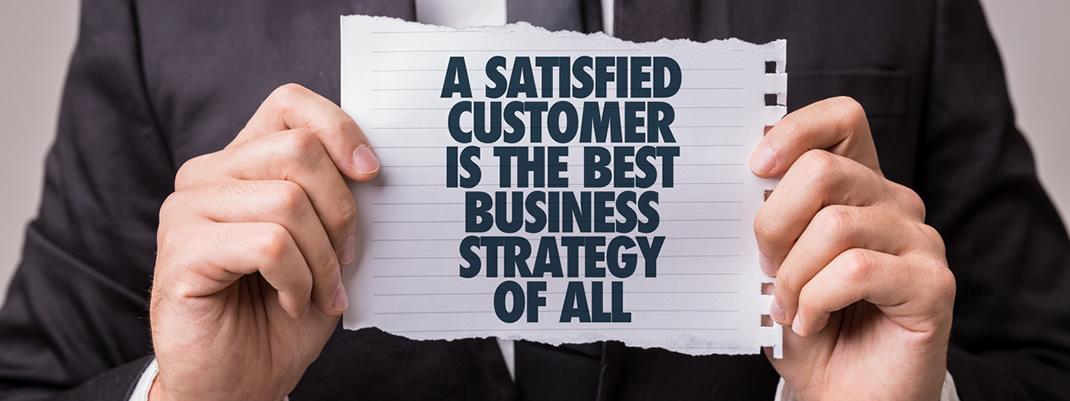 Bestandskunden - zufriedene Kunden